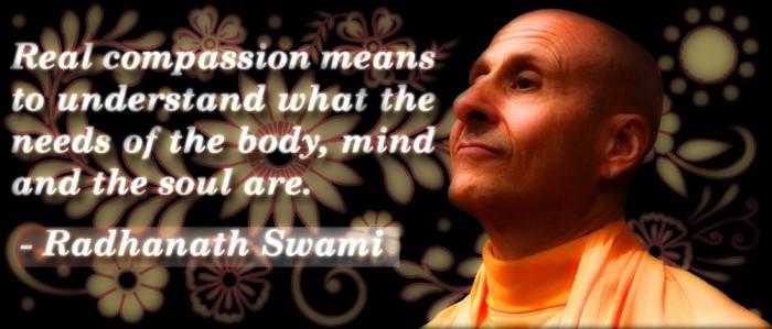 Radhanath Swami on Real Compassion