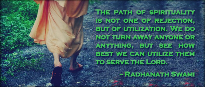 Radhanath Swami on The path of Spirituality