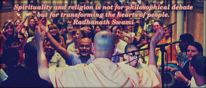 Radhanath Swami on Spirituality and Religion