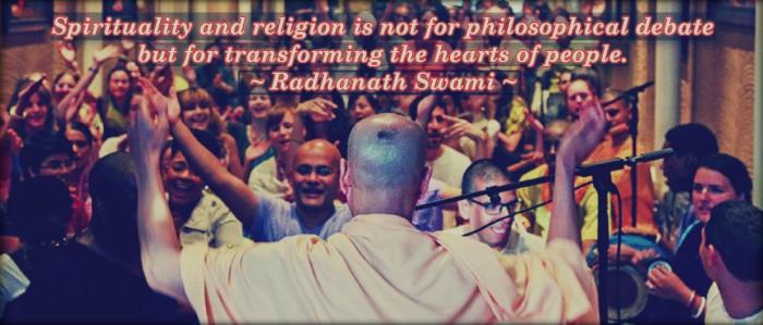 Radhanath Swami on Spirituality and Religion