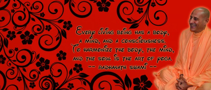 Radhanath Swami on Art of yoga