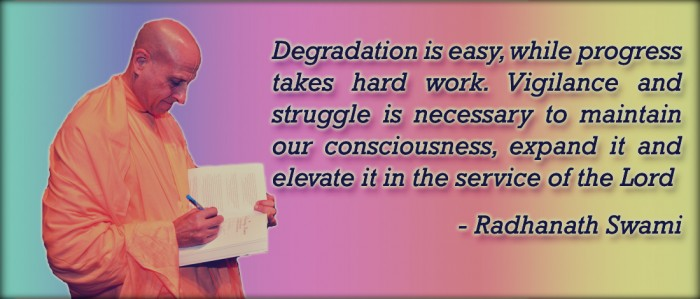 Radhanath Swami on Maintain our Consciousness