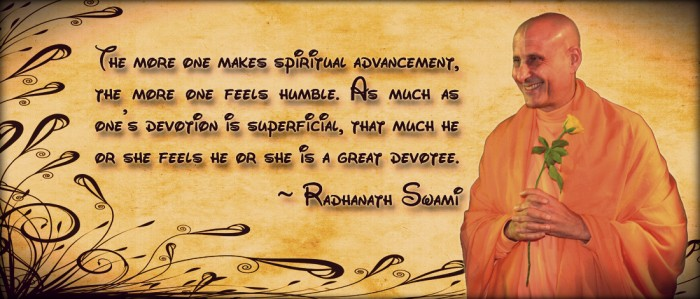 Radhanath Swami on Spiritual Advancement
