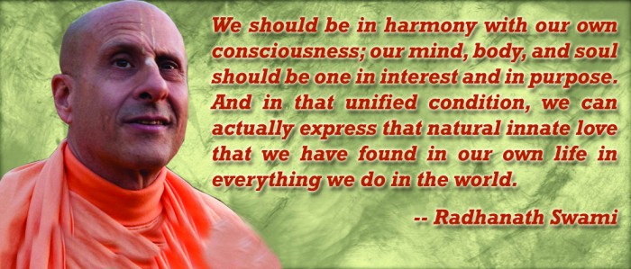 Radhanath Swami on Consciousness