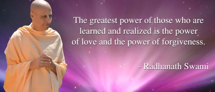 Radhanath Swami on The greatest power