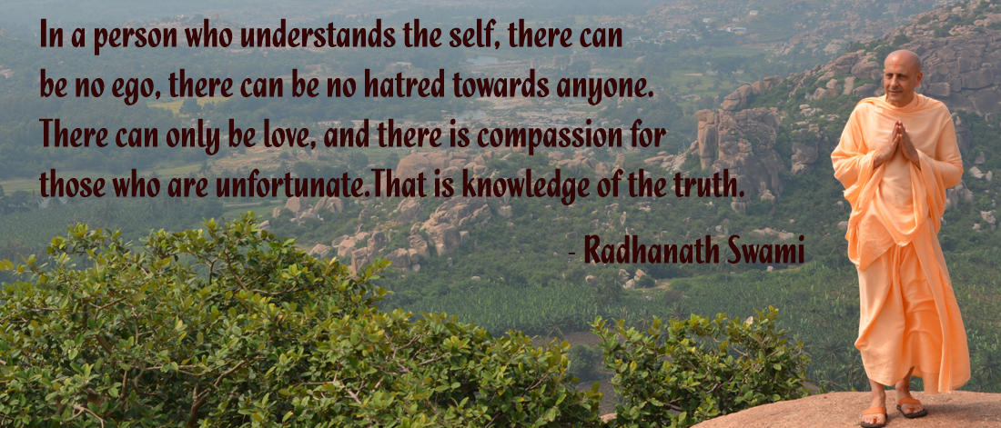 Radhanath Swami on knowledge of the truth