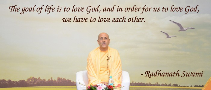 Radhanath Swami on The goal of life