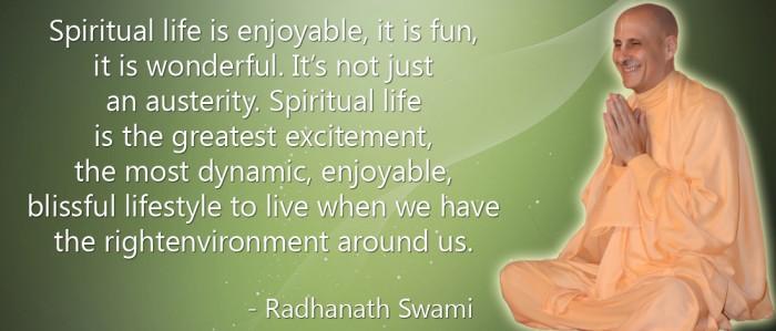 Radhanath Swami on Spiritual Life