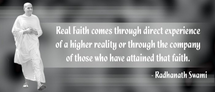 Radhanath Swami on Faith