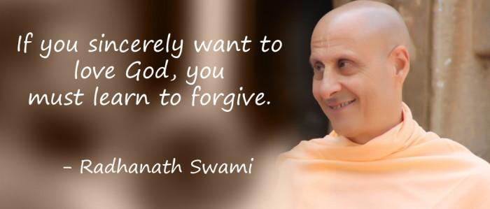 Radhanath Swami on Art of Forgiveness