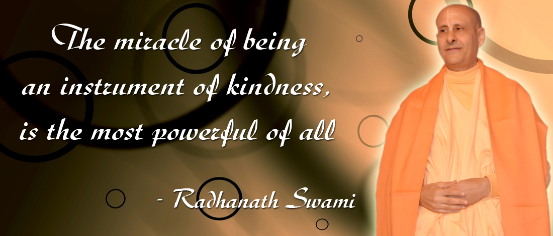 Radhanath Swami on Kindness