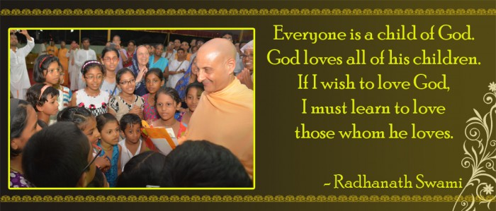 Radhanath Swami on love of God