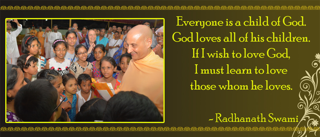 Radhanath Swami on love of God