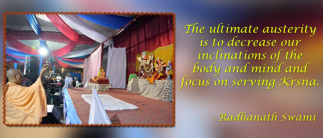Radhanath Swami on Austerity