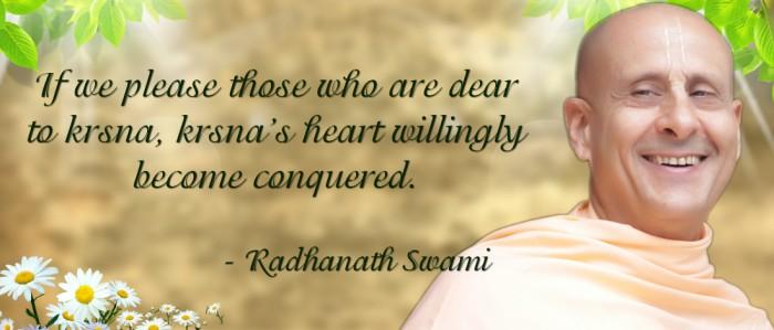 Radhanath Swami on Devotee