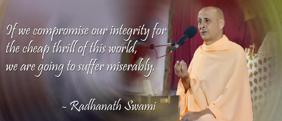 Radhanath Swami on Self-control