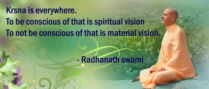 Radhanath Swami on Real wealth