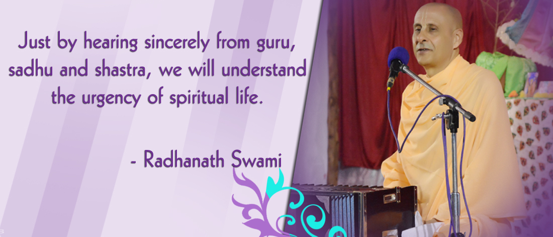 Radhanath Swami on Vedic truths