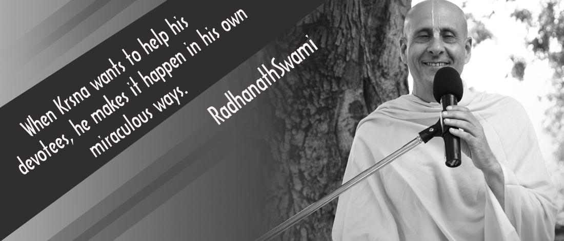 Radhanath Swami on Krishna Lila