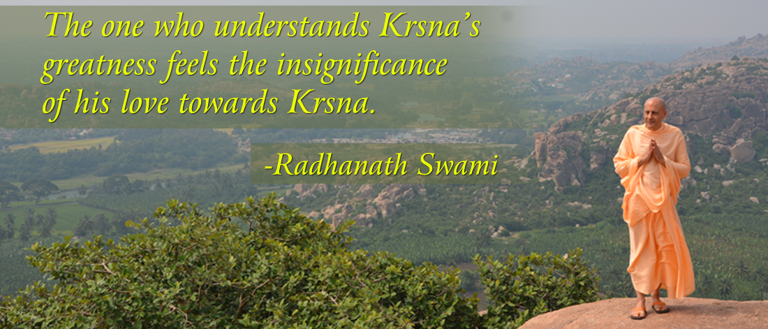 Radhanath Swami on Loving Krishna