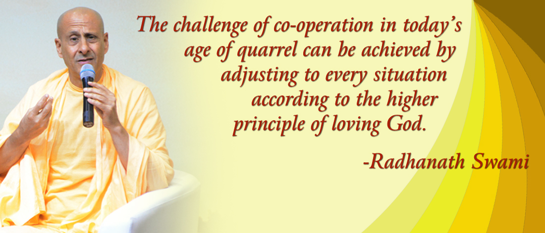 Radhanath Swami on Cooperation