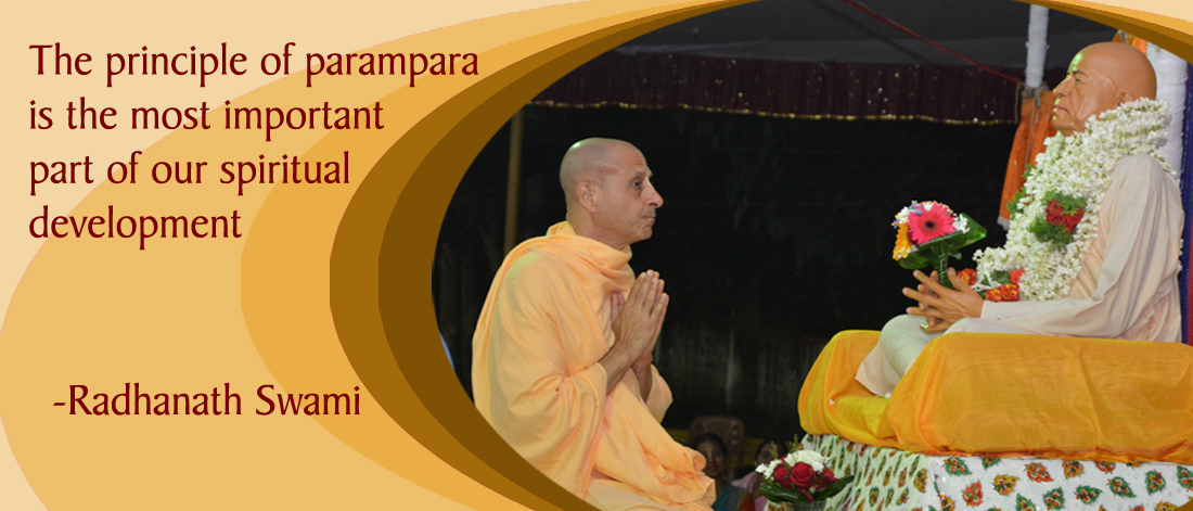 Radhanath Swami on Connection