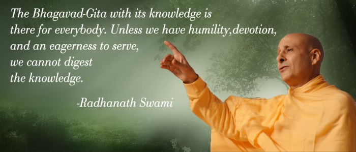 Radhanath Swami on Secret Gems