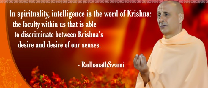 Radhanath Swami on Intelligence