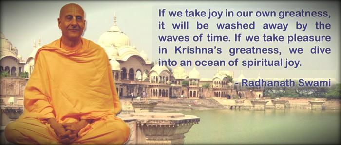 Radhanath Swami on Spiritual Joy