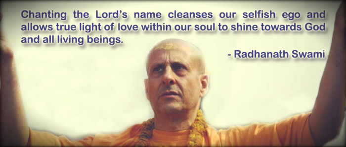 Radhanath Swami on chanting the holy name