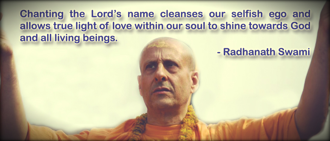 Radhanath Swami on chanting the holy name