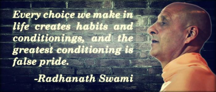 Radhanath Swami on False Pride