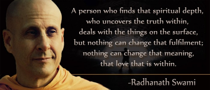 Radhanath Swami on spiritual love
