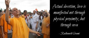 Radhanath Swami on Devotion