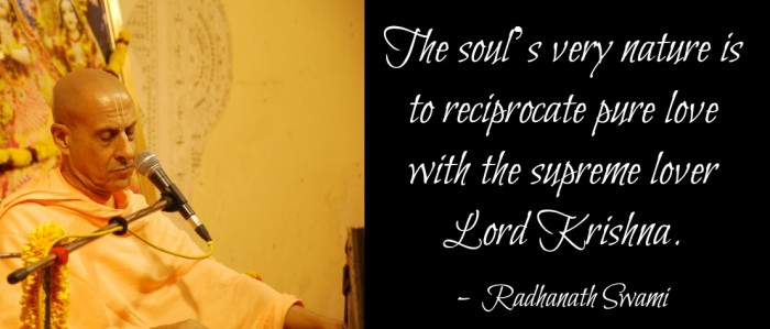 Radhanath Swami on soul's nature
