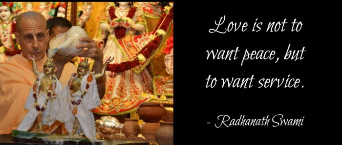 Radhanath Swami on real love