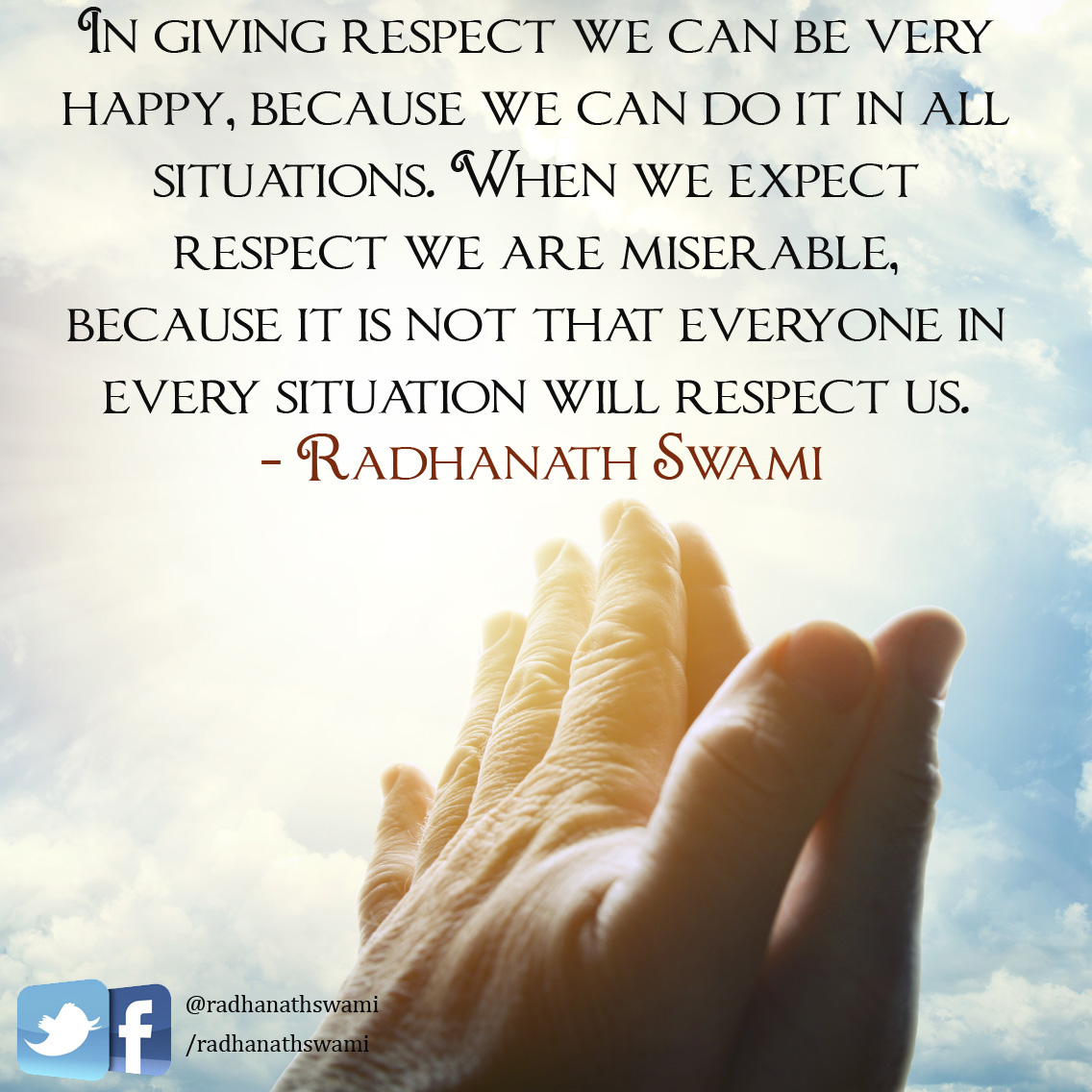 Expectation Quotes Expectation Management In Everyday Life Radhanath Swami Quotes