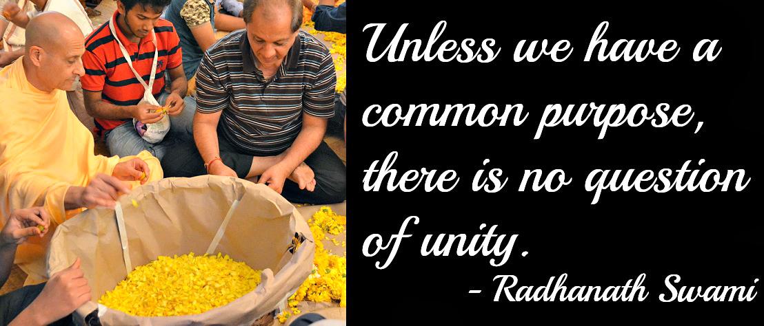 Radhanath Swami on Unity