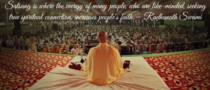 Radhanath Swami on Satsang