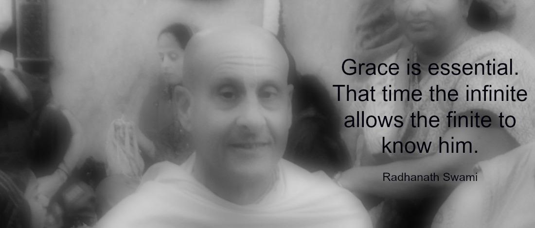 Radhanath Swami on Grace