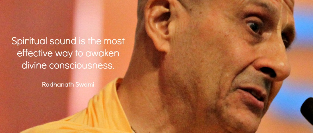 Radhanath Swami on Spiritual Sound