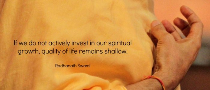 Radhanath Swami on Spiritual Growth