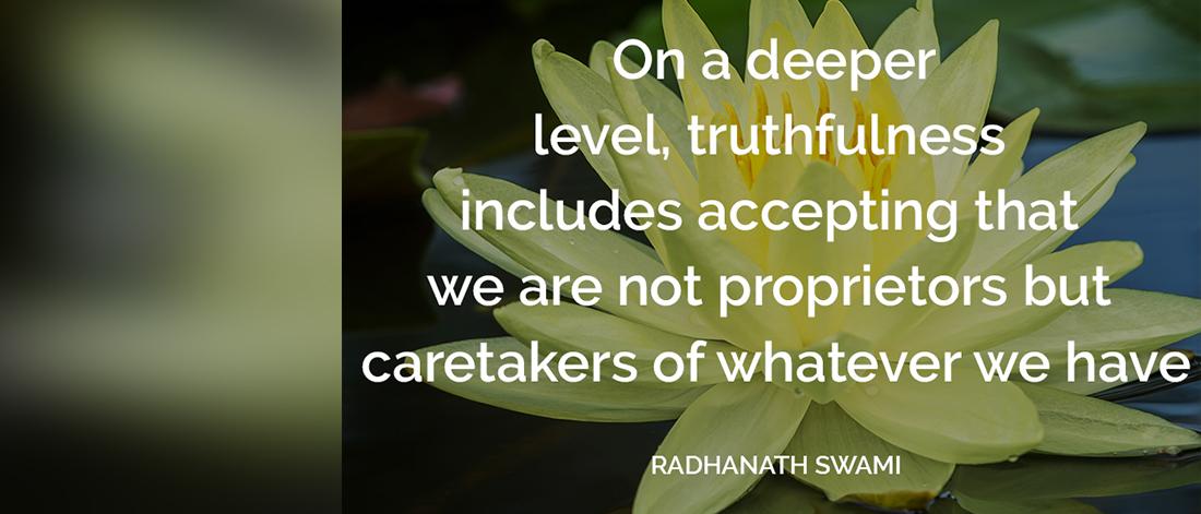 radhanath-swami-truthfulness